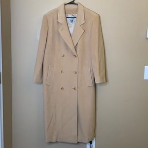 Vintage Marvin Richards Camel Hair long pea coat